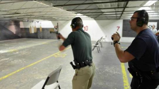 Practical Pistol Matches At Take Aim Gun Range Featured In Herald Tribune